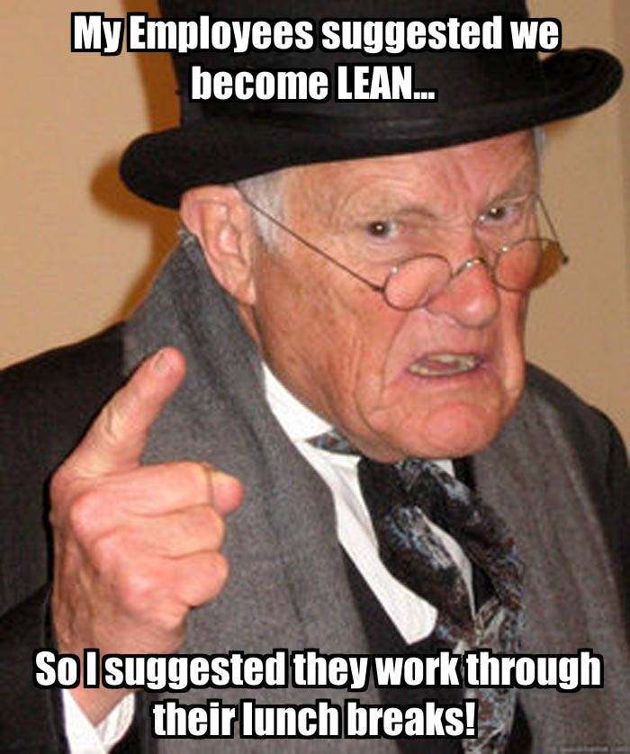 LEAN Suggestions