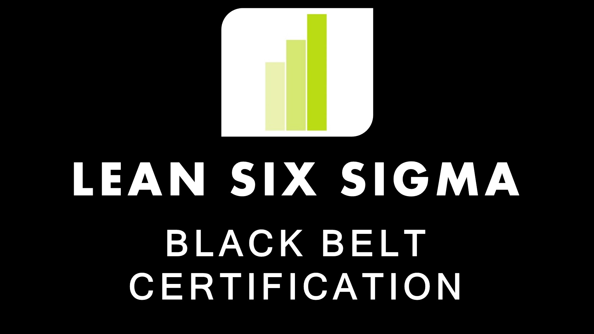 Lean Six Sigma Black Belt Training Course And Certification