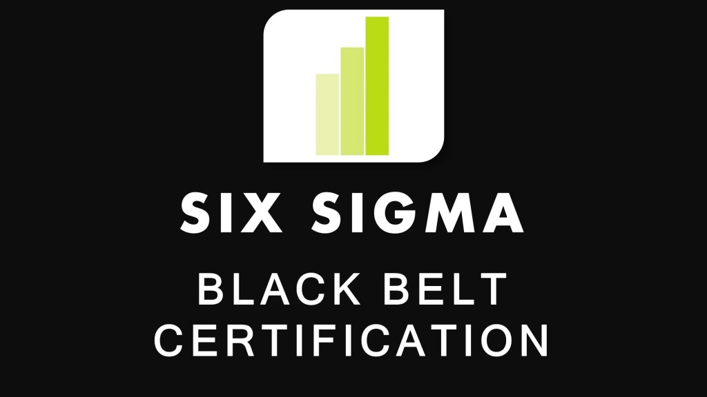 Six Sigma Black Belt Training Course and Certification