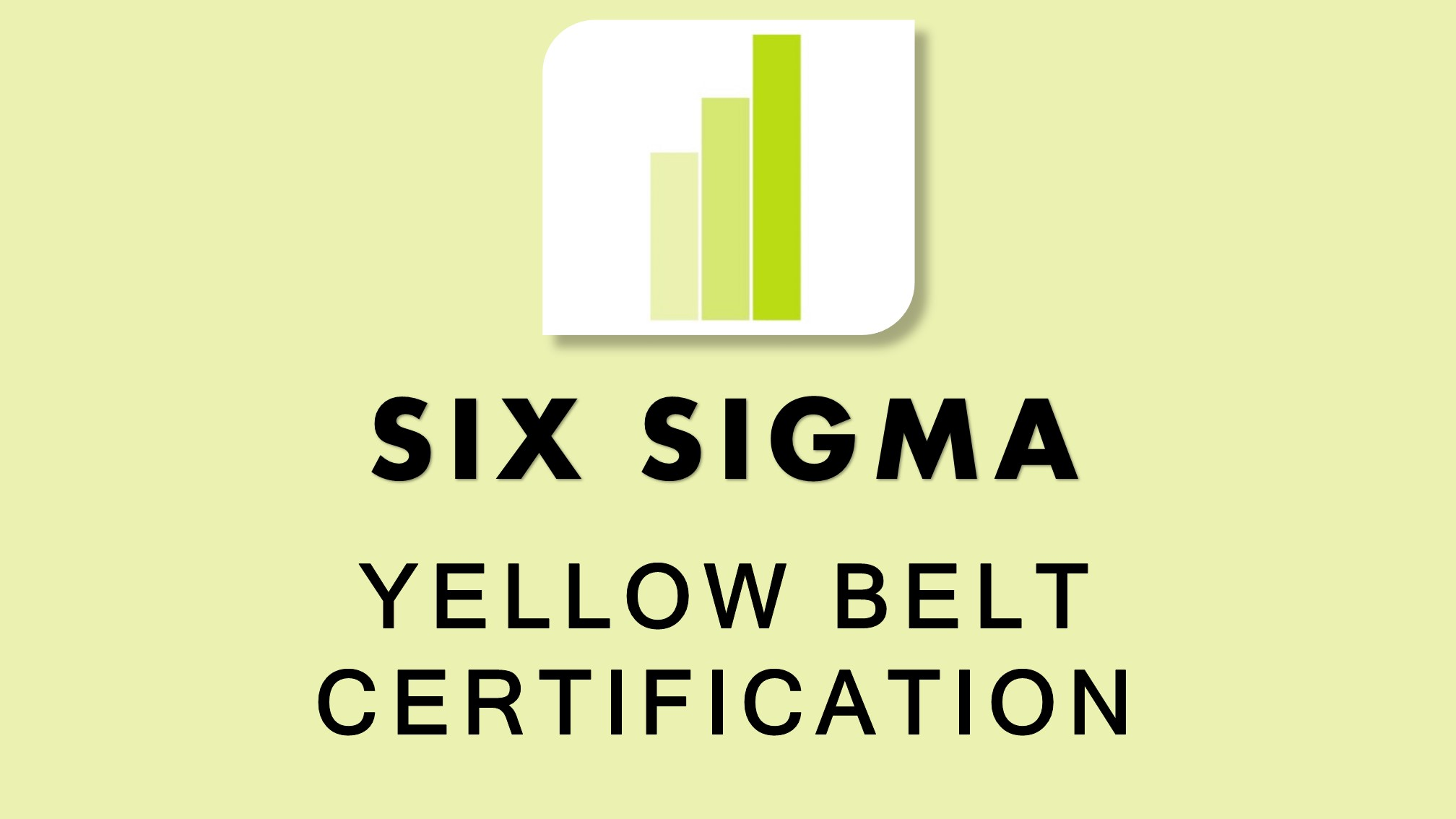 Six Sigma Yellow Belt Training Course And Certification Australia